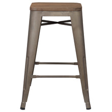 "Trattoria 24"" Counter Height Stool (Set of 3)"