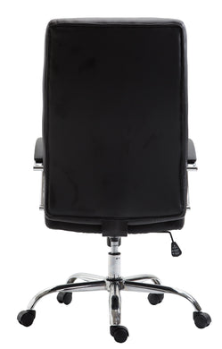 Francesca Office Chair in Black