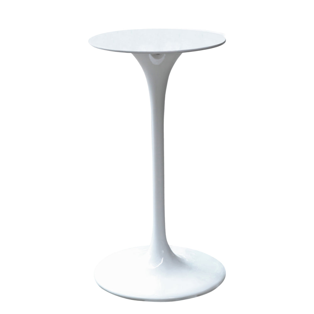 Flower Bar Table, White