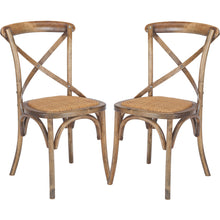 Cafton Crossback Chair in Ash (Set of 2)