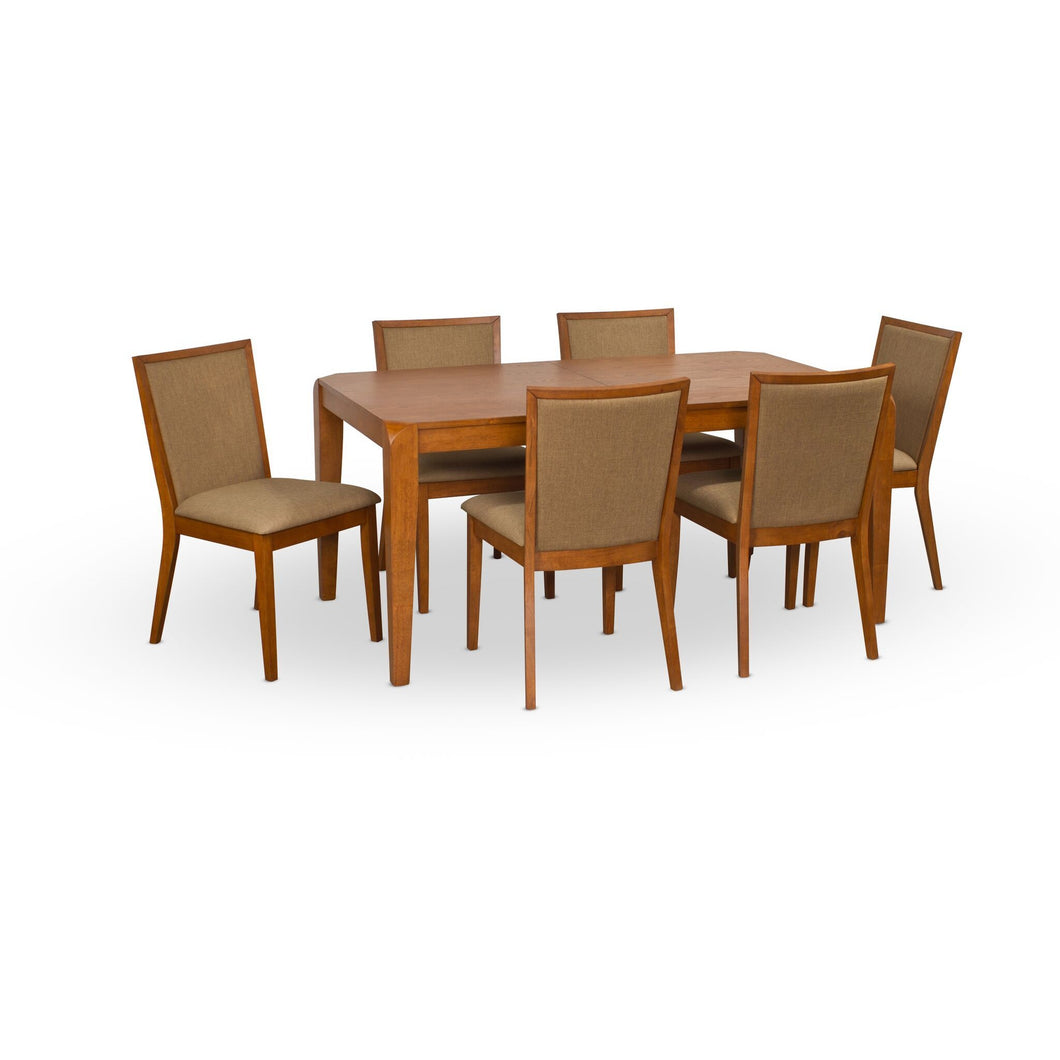 Clifton Dining Set - Blanc + Gris