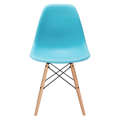 Vortex Side Chair in Aqua