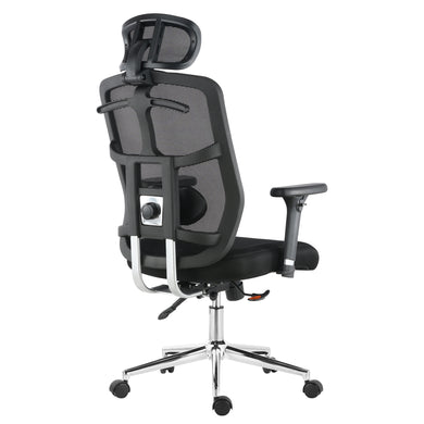 Simmons Office Chair in Mesh, Black
