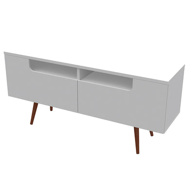 Jensen TV Stand - White Satin