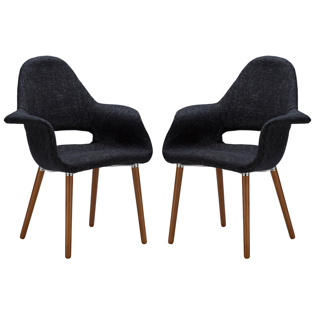 Barclay Dining Chair in Black (Set of 2)