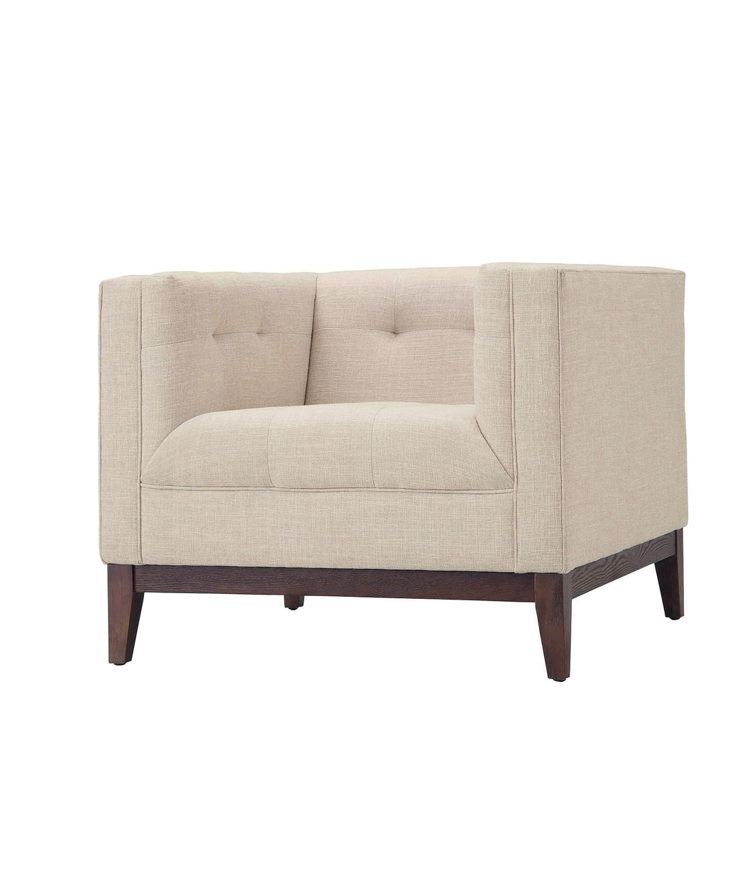 Huntington Lounge Chair in Beige