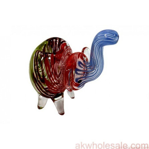 ELEPHANT SMOKING GLASS PIPE