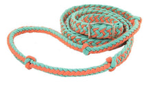Nylon Braided Barrel Reins
