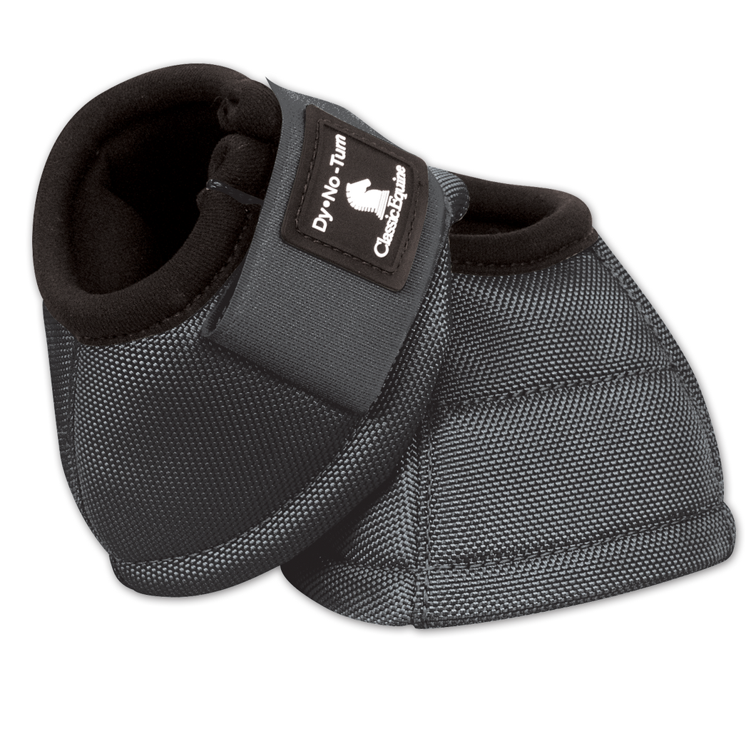Classic Equine Bell Boots - Steel Grey