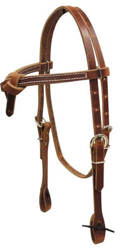 Leather Futurity Knot Bridle