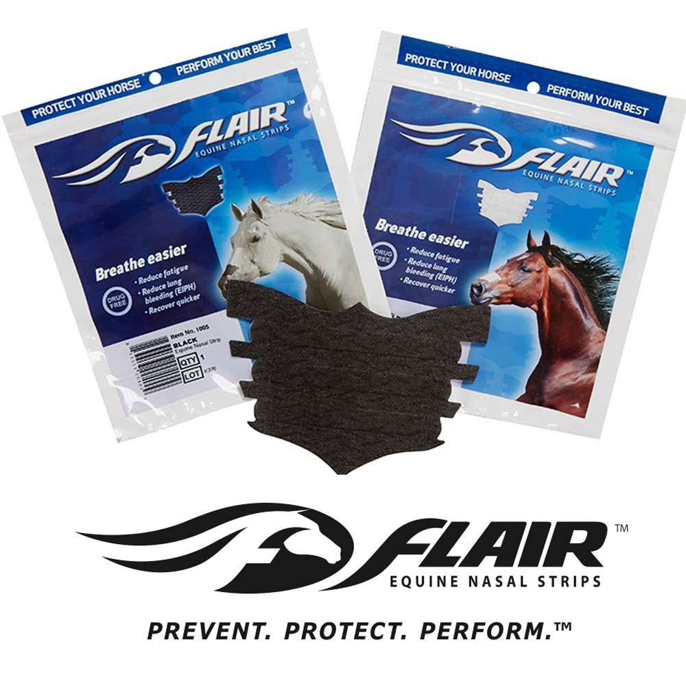 Flair Equine Nasal Strips - 6 Pack