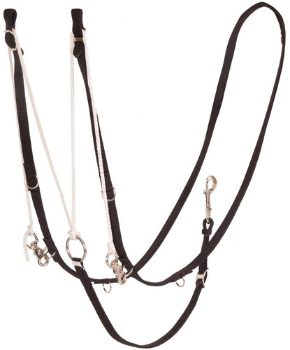 German Martingale - Black Nylon