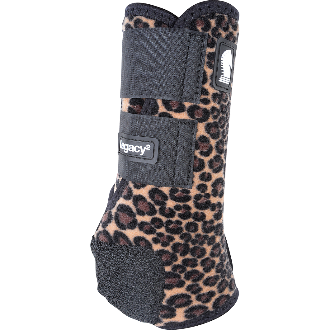 Classic Equine Legacy 2 boots - Cheetah