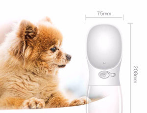 Water Bottle Dog Leakage-Proof Drinking Water Feeder For Outdoor🐶💧