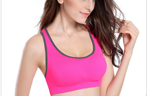 Professional Absorb Sweat Top Fitness Rims Wireless Sports Bra