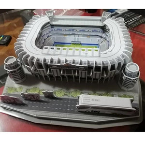 Puzzle Architecture Santiago Bernabeu Football Stadiums⚽