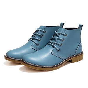 Genuine Leather Rock Metal Style Boots
