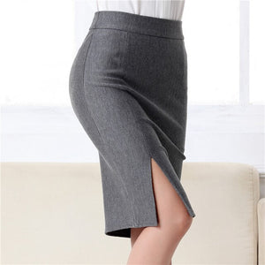 Formal Work Wear Sexy High Waist Mini Pencil Skirt