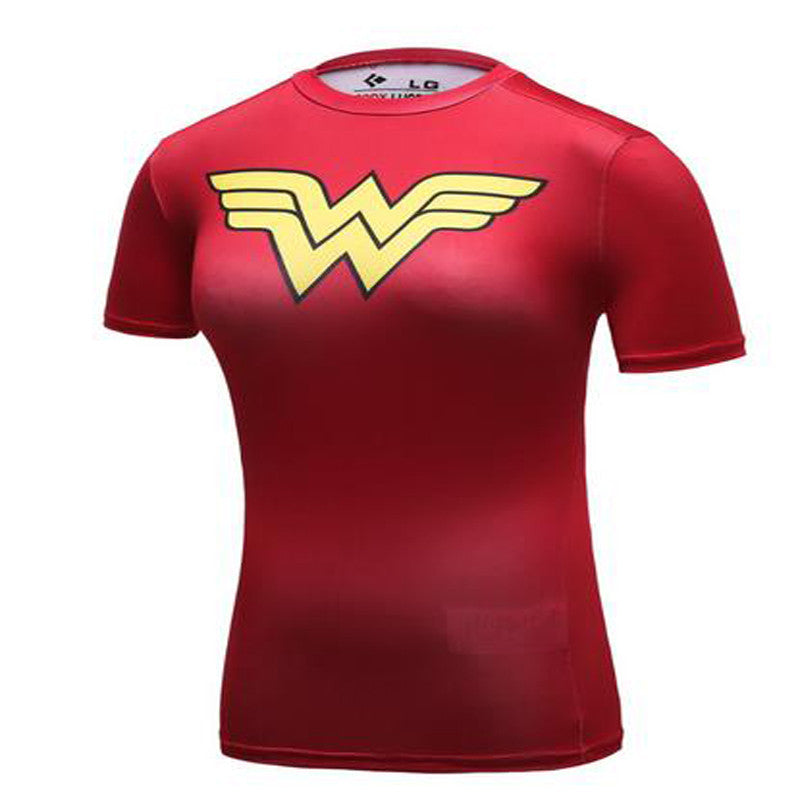 New Arrival Cool Style Superhero Wonder Women T-Shirt