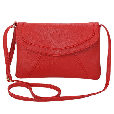 Vintage leather handbag crossbody shoulder party purse