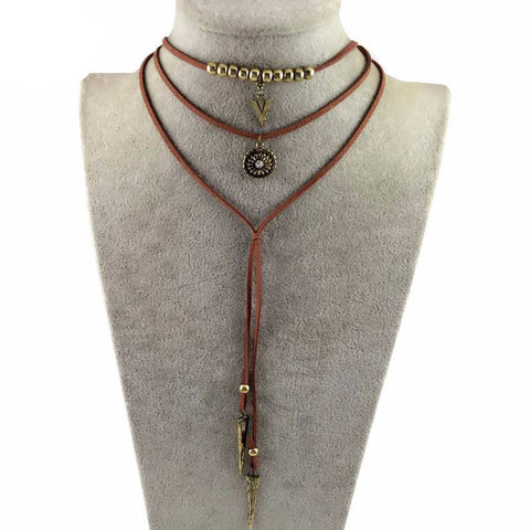 Danze Boho Multilayer Necklace