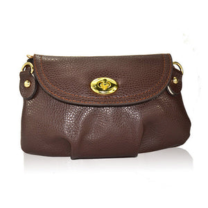 Cute Wallet Crossbody Retro Small Solid PU Leather Bag