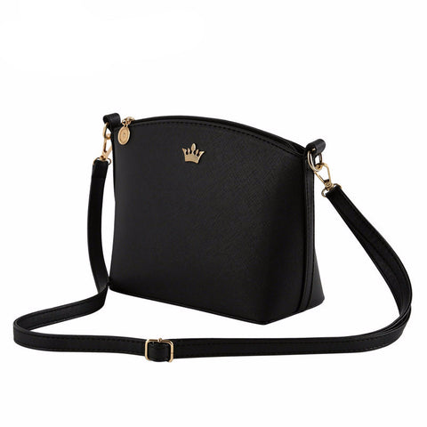 Casual small imperial crown candy color handbags crossbody shoulder bag
