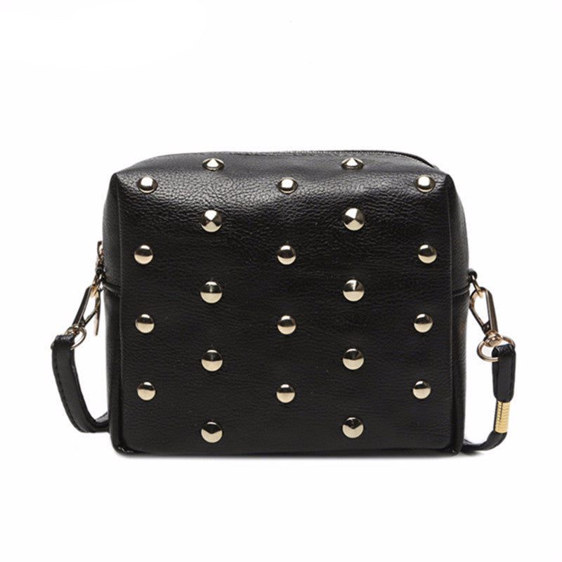 Metal Punk Mini Crossbody Bag