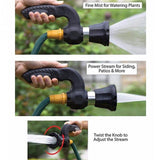 Mighty Blaster Hose Nozzle Lawn Garden Super Powerful Car Washing