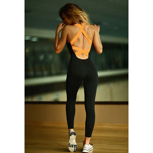 Suit Tight Jumpsuits Sports Yoga Set