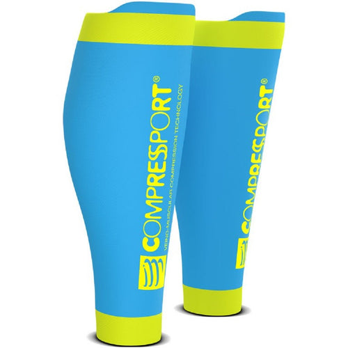 Compressport R2V2 Calf Sleeves - Ice Blue