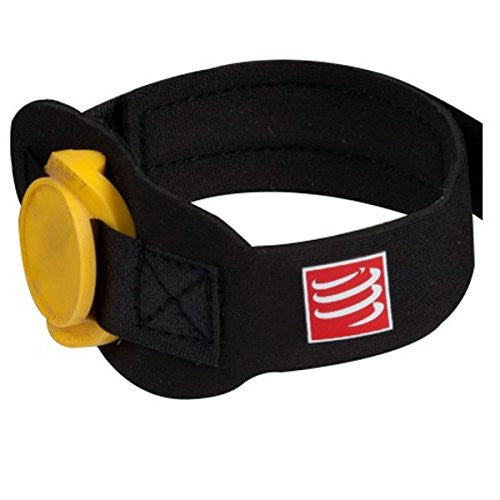 Compressport Timing Chip Strap - Black