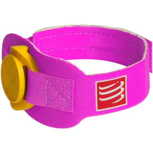 Compressport Timing Chip Strap - Pink -