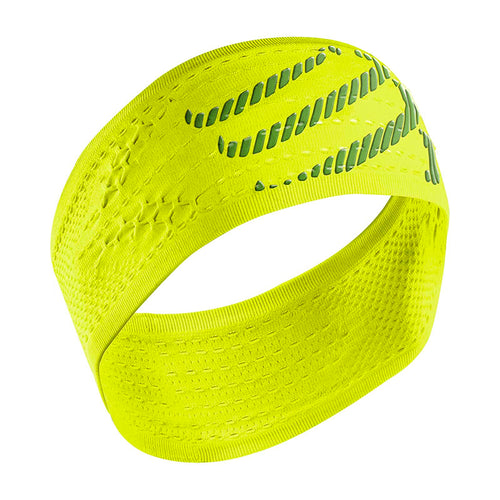 Compressport Headband ON/OFF - Fluro Yellow