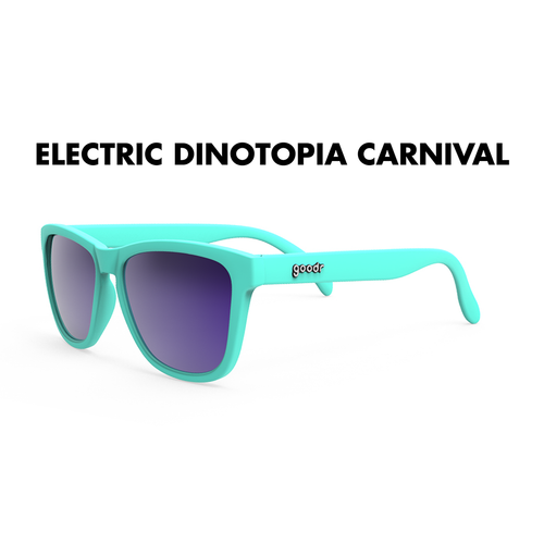 GoodR Sunglasses - The OGs - Electric Dinotopia Carnival