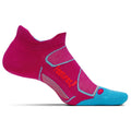 Feetures Socks - Elite Max Cushion - No Tab - Berry/Lava
