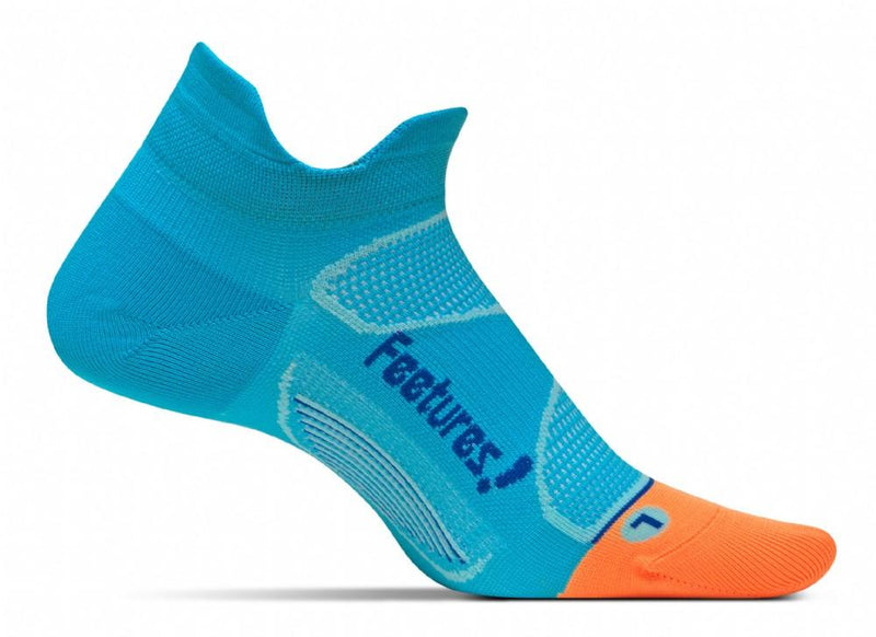 Feetures Socks - Elite Ultra Light Cushion - No Tab - Blue Lagoon Cobalt
