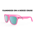 GoodR Sunglasses - The OGs - Flamingos on a Booze Cruise