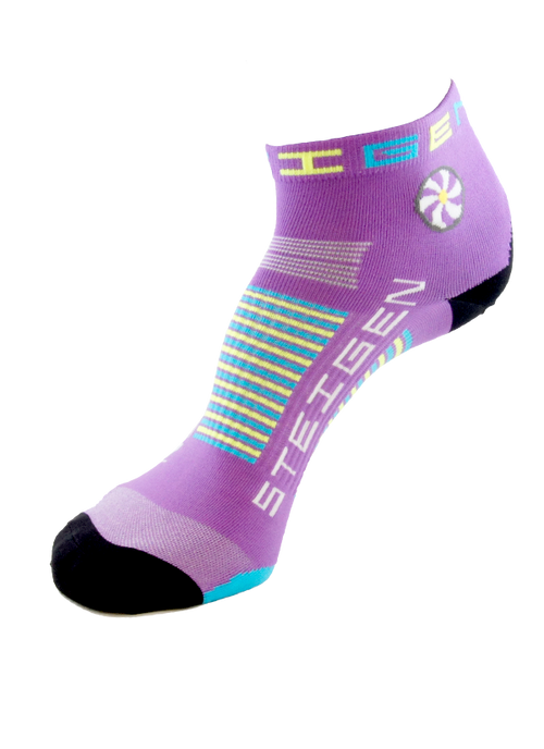 Steigen Socks - 1/4 Length - Bubblegum Purple