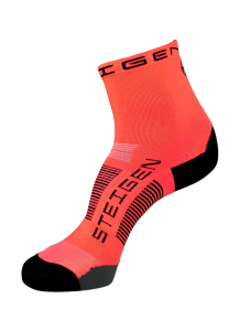 Steigen Socks - 1/2 Length - Fluro Red