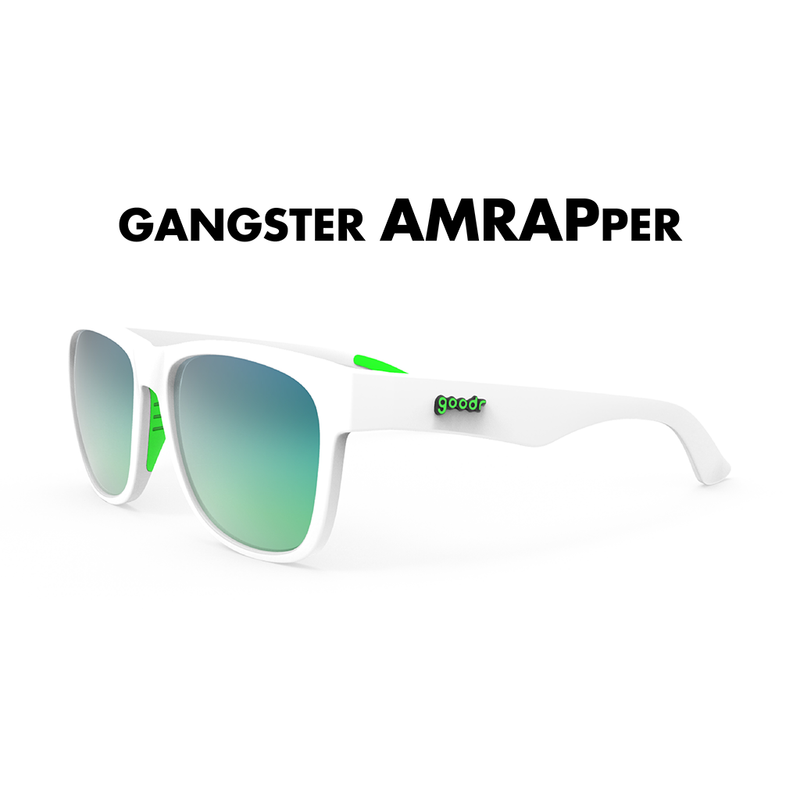 GoodR Gangster Amrapper Sunglasses. These BFG's are made with wider frames, longer arms and bigger lenses.
