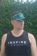 Inspire Athletic Green Hex Running Visor