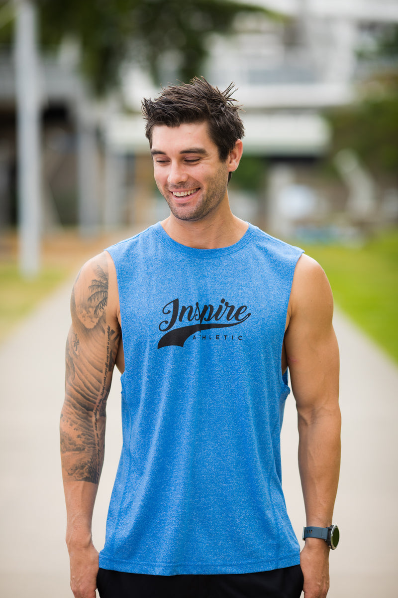 Men's IA Tank - Blue/Black