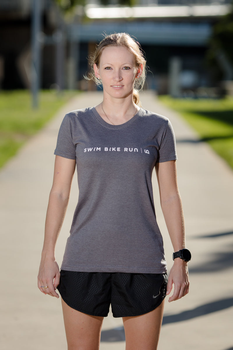 Female Tee - SBR Range - Dark Heather