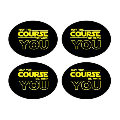 Race Bib Number Holders - Bibboards - May the course be with you