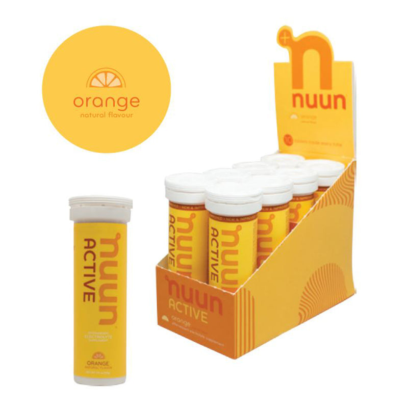 Nuun Active Orange 10 Tablet Tube