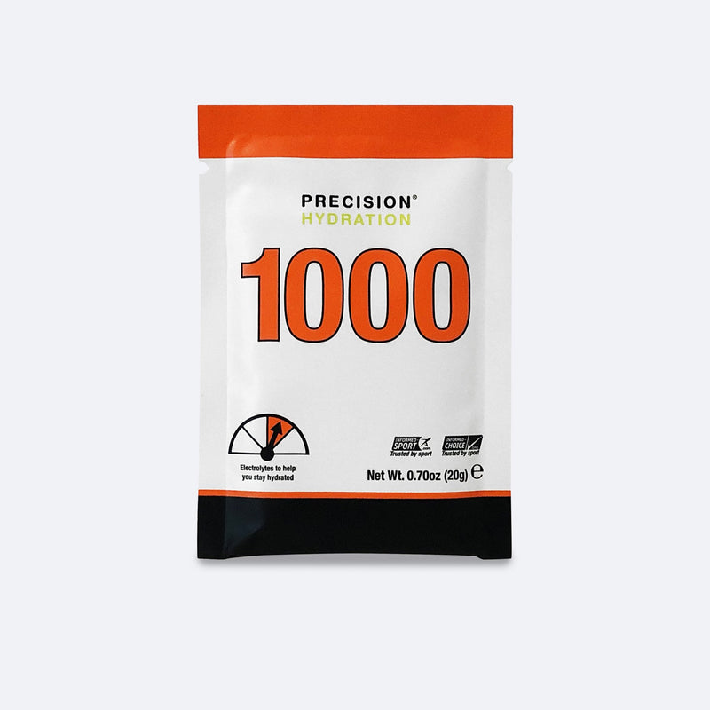 Precision Hydration 1000 all-natural drink mix - Carbs & Electrolyte