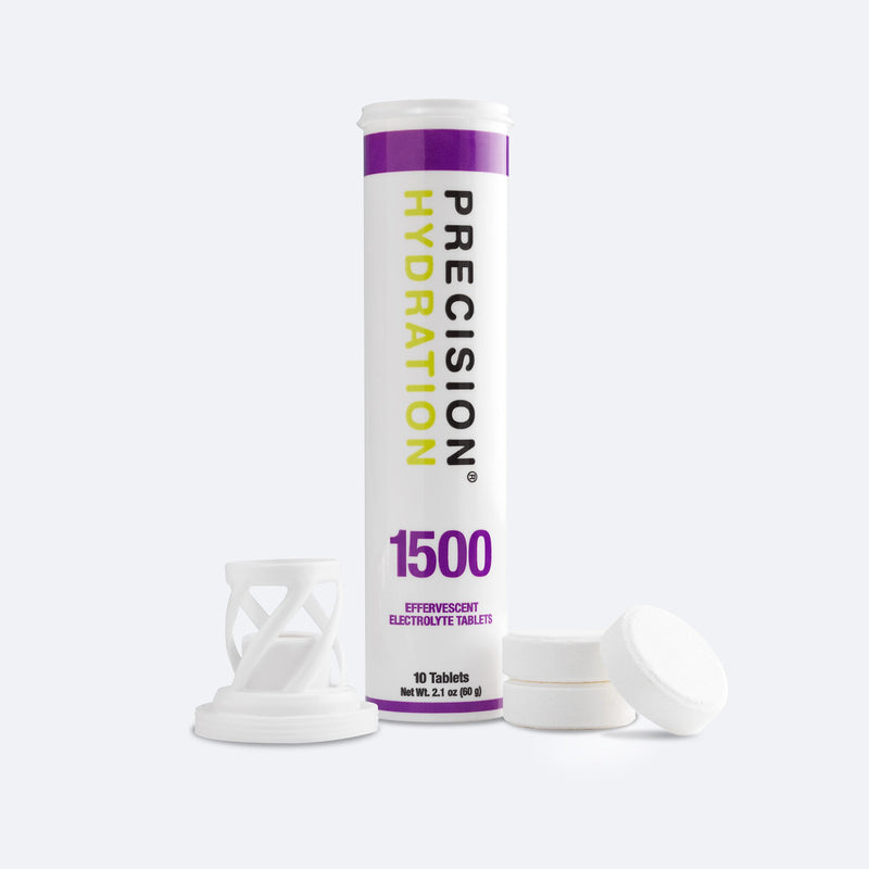 Precision Hydration 1500 low-calorie electrolyte tablets