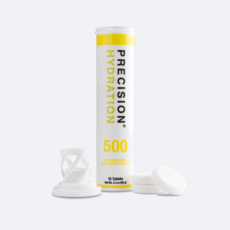 Precision Hydration 500 low-calorie electrolyte tablets