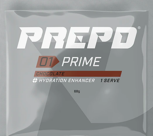 PREPD - 01 Prime - Hydration Enhancer - 1 Serve - Choc OR Vanilla